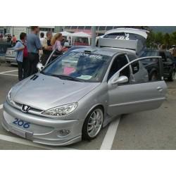 Palpebre fari Peugeot 206 ver.2