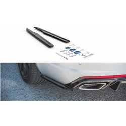 Sottoparaurti splitter laterali posteriori V.2 Skoda Octavia III RS 2013 - 2019